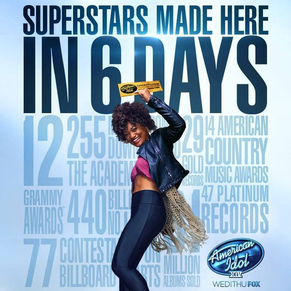 Bluegirl Avianna Acid is Featured in Ads for American Idol - Liquid Blue