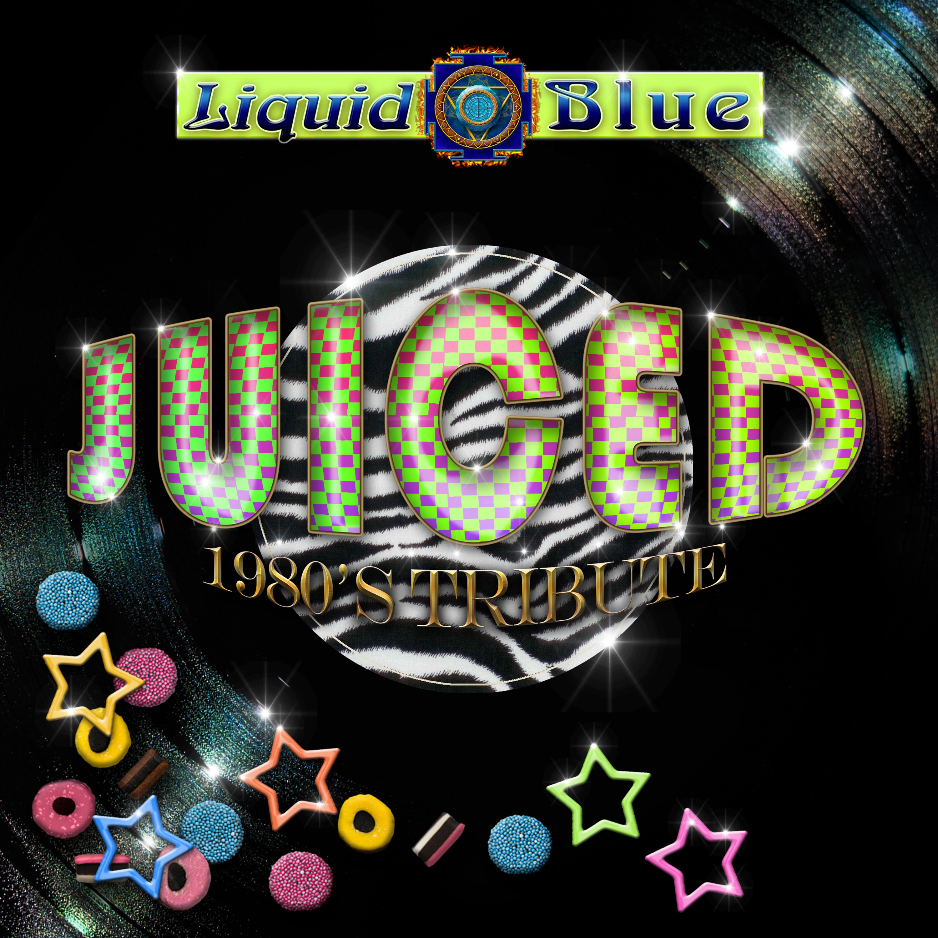 Juiced 1980's Tribute - Liquid Blue