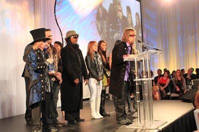Liquid Blue Band in Las Vegas NV Spotlight Award Acceptance Speech - Liquid Blue