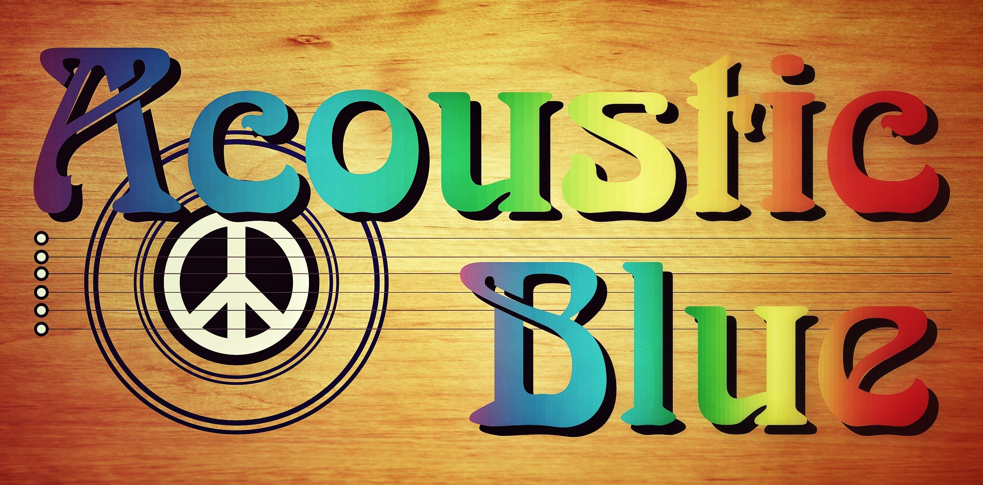 Acoustc Blue Logo - Liquid Blue