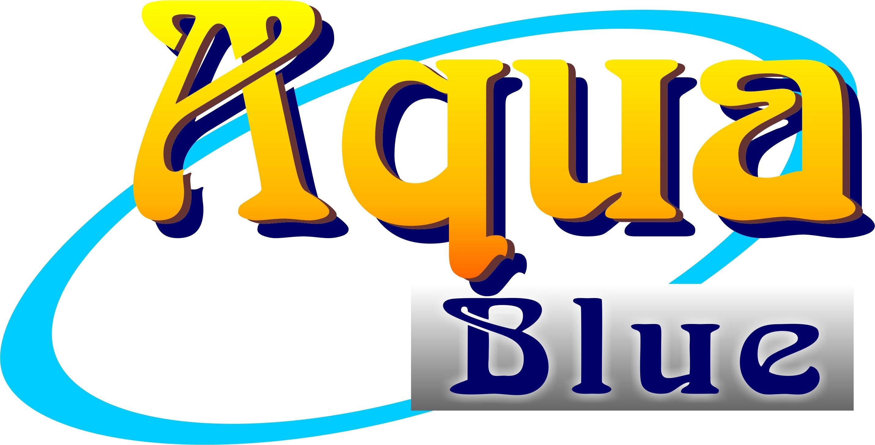Aqua Blue - Liquid Blue