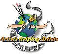Wins Artists Helping Artists Award - Liquid Blue