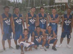 Basketball Team - Liquid Blue