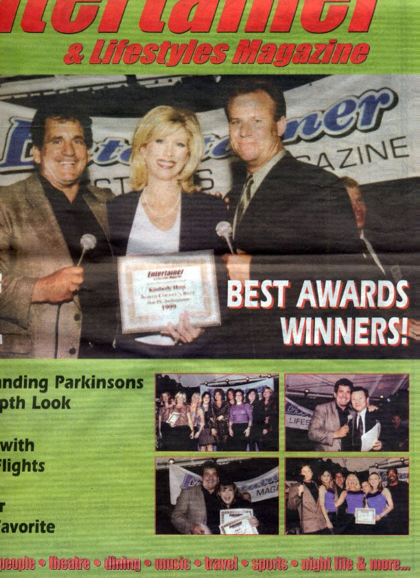 Best Award Cover - Liquid Blue