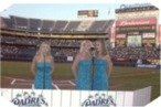 BlueGirls Sing National Anthem - Liquid Blue