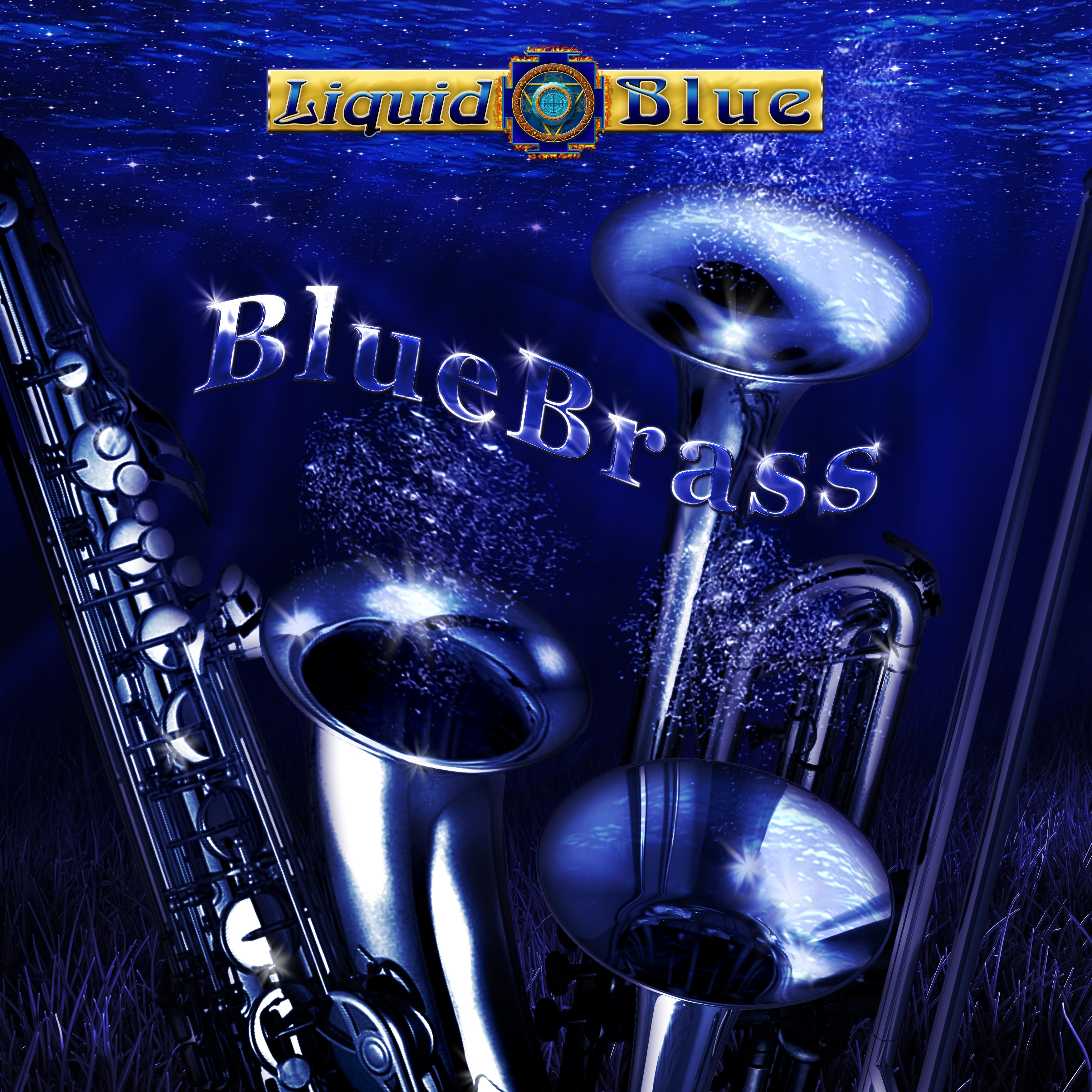Blue Brass - Liquid Blue