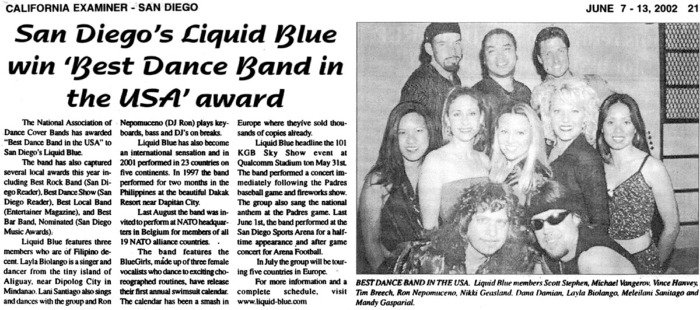 California Examiner - Liquid Blue