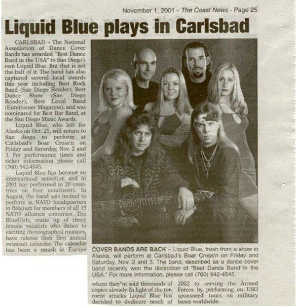 Coast News 600 - Liquid Blue