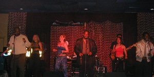 The Coasters Perform On Stage With Liquid Blue - Liquid Blue