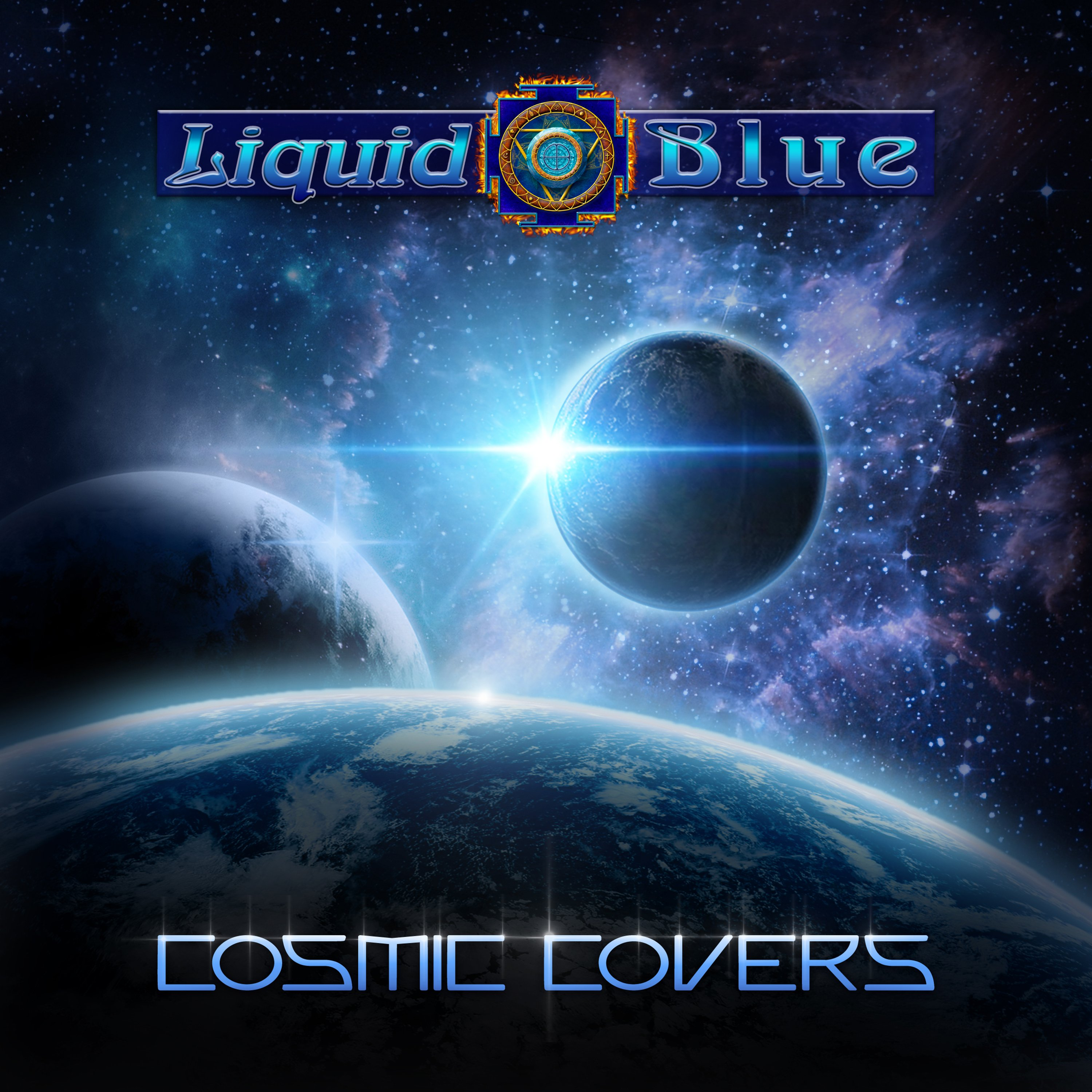 Cosmic Covers - Liquid Blue