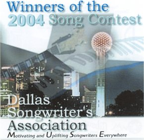 Dallas Song Writers CD Cover - Liquid Blue