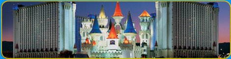 Excalibur in Las Vegas For New Year's - Liquid Blue