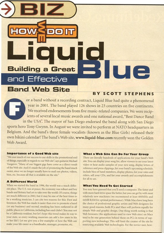 Gid-1 - Liquid Blue