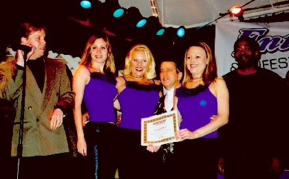 Liquid Blue Voted Best Band 2nd Year Group Award - Liquid Blue