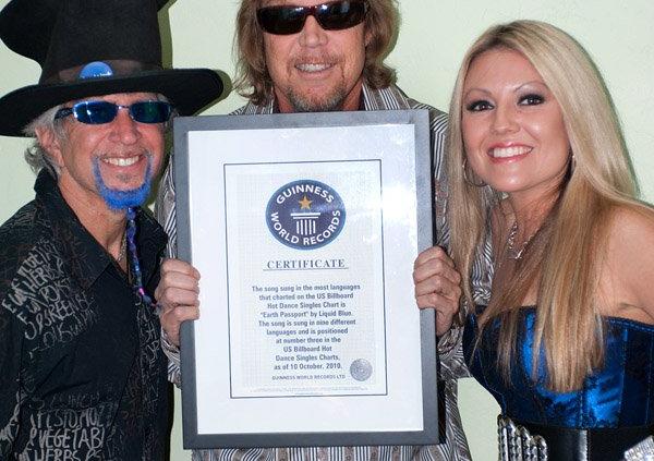 Liquid Blue Band Guinness World Record Certificate - Liquid Blue