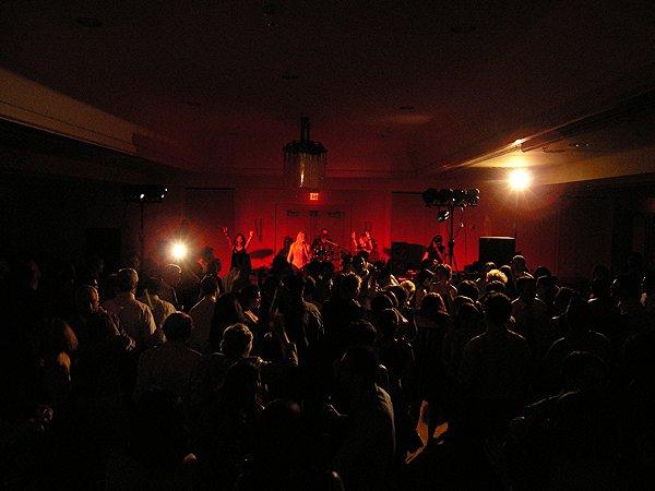 Liquid Blue Band In Coronado Ca At Coronado Marriot Resort - Liquid Blue