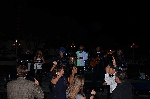 Liquid Blue Band in La Quinta CA at la Quinta Resort - Liquid Blue