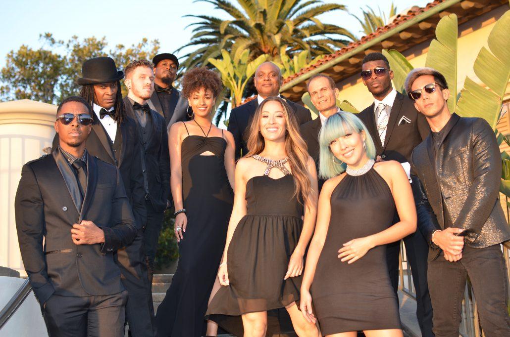 Liquid Blue Band in Newport Beach CA at Pelican Hill Resort - Liquid Blue