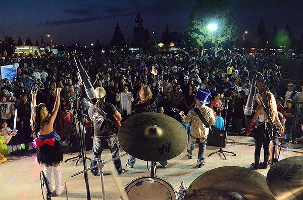 Liquid Blue Band in Norwalk CA at City Hall Lawn - Liquid Blue