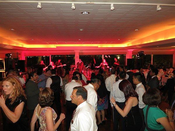 Liquid Blue Band in San Diego CA at Admiral Kidd Club - Liquid Blue