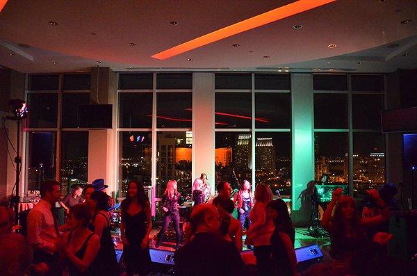 Liquid Blue Band in San Diego CA at Diamond View Tower - Liquid Blue