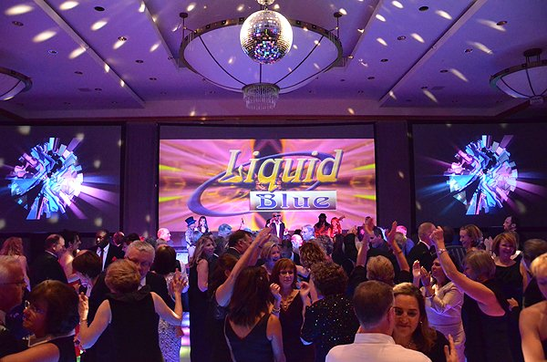 Liquid Blue Band in Seattle WA at Westin Hotel