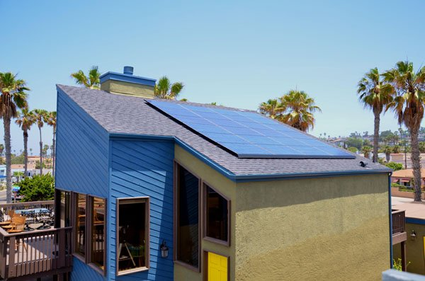 Liquid Blue Hippie House Solar PV System