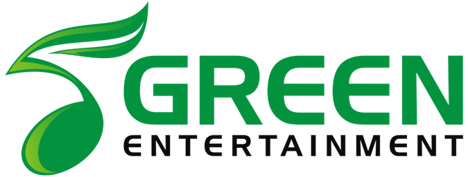 Logo for Green Entertainment Color Transparent Bg