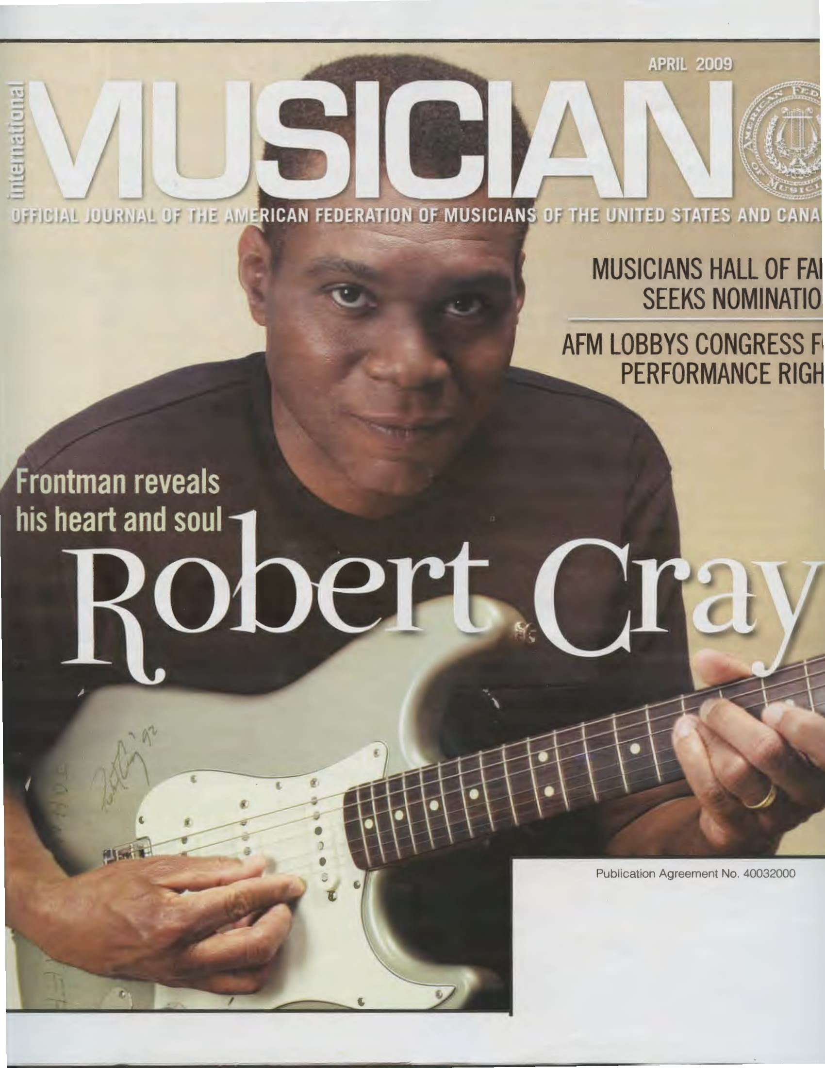 Musician Mag AFM April 2009 - Liquid Blue