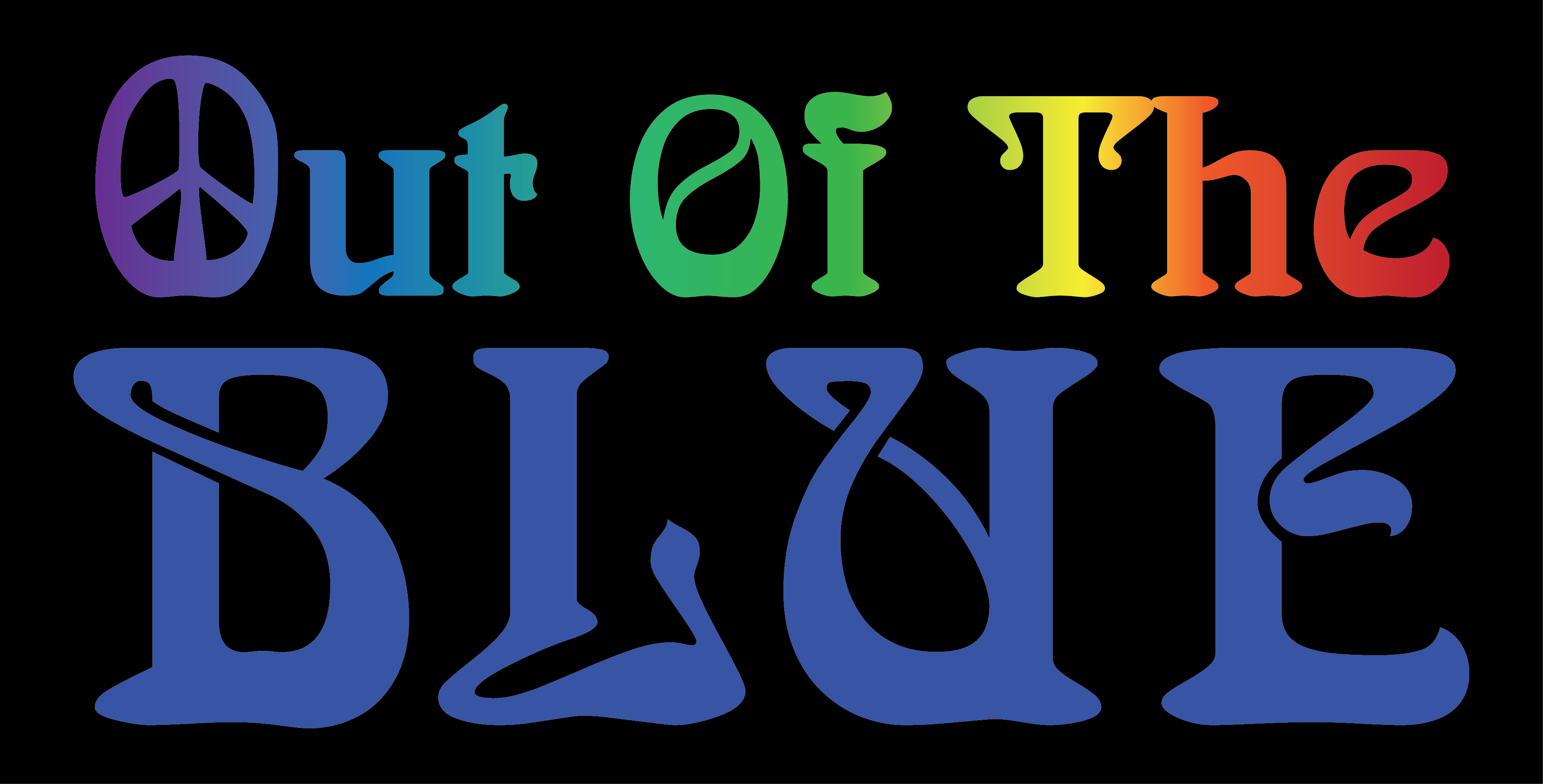 Out Of The Blue Wip Tagline - Liquid Blue