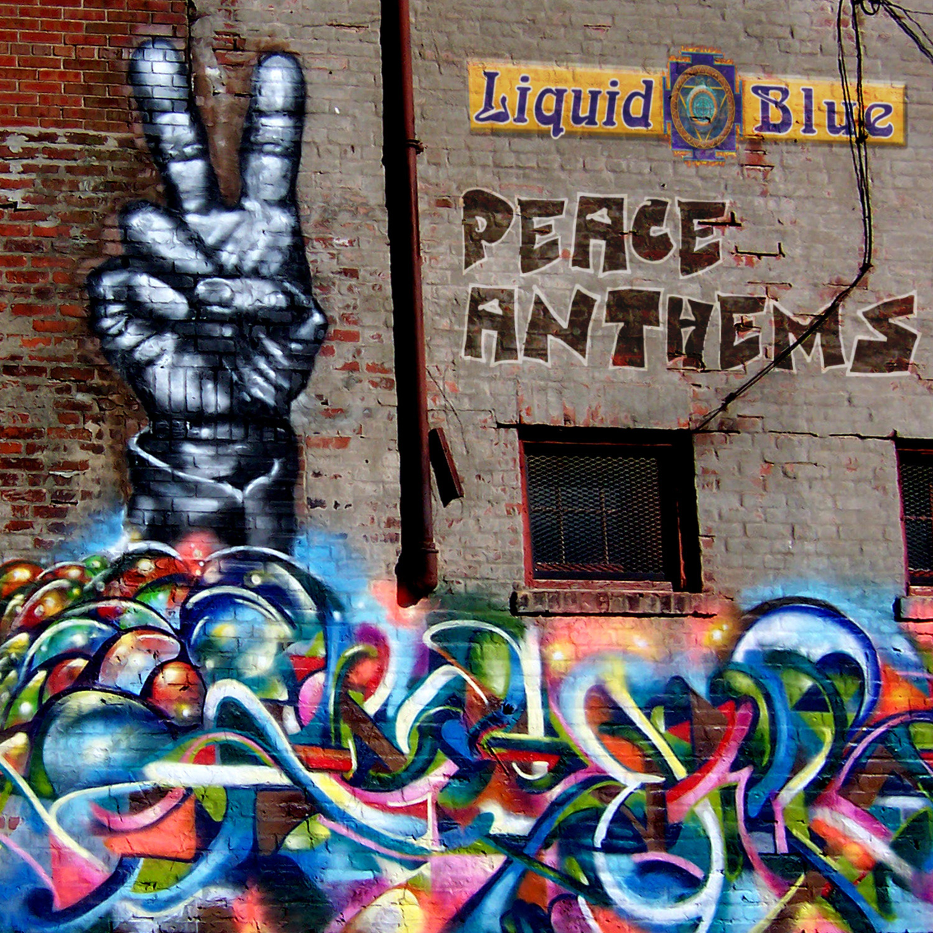 Peace Anthems - Liquid Blue