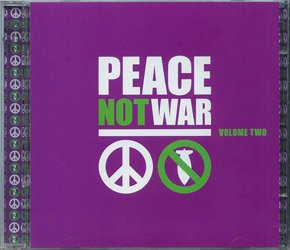 Peace Not War - Liquid Blue