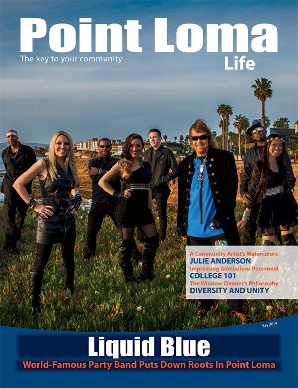Point Loma Life - Liquid Blue