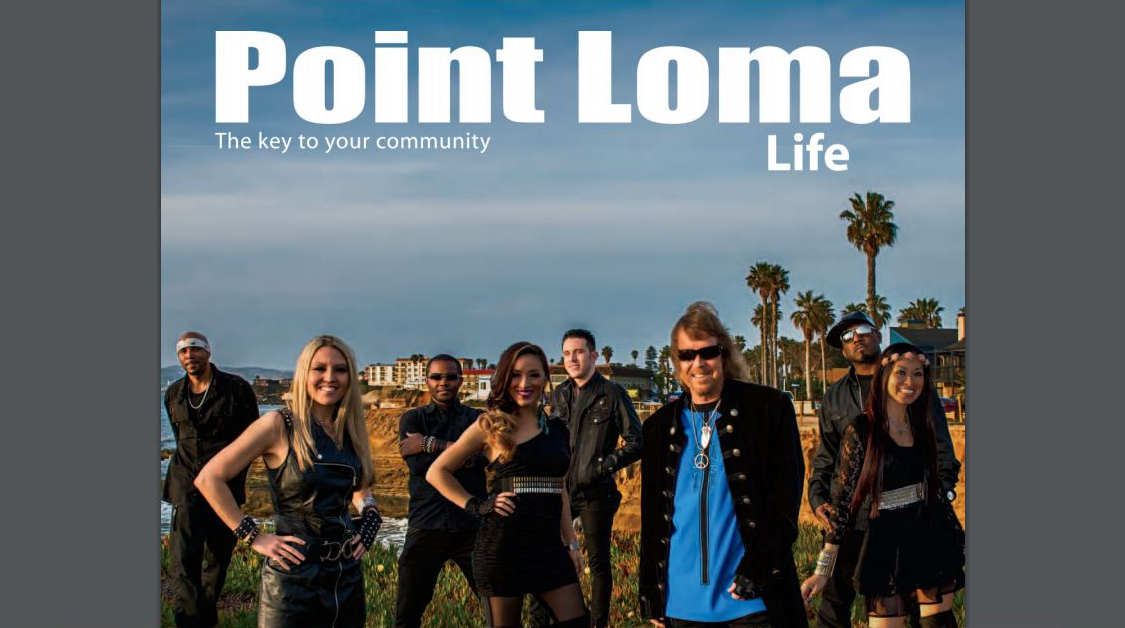Point Loma Life - Liquid Blue
