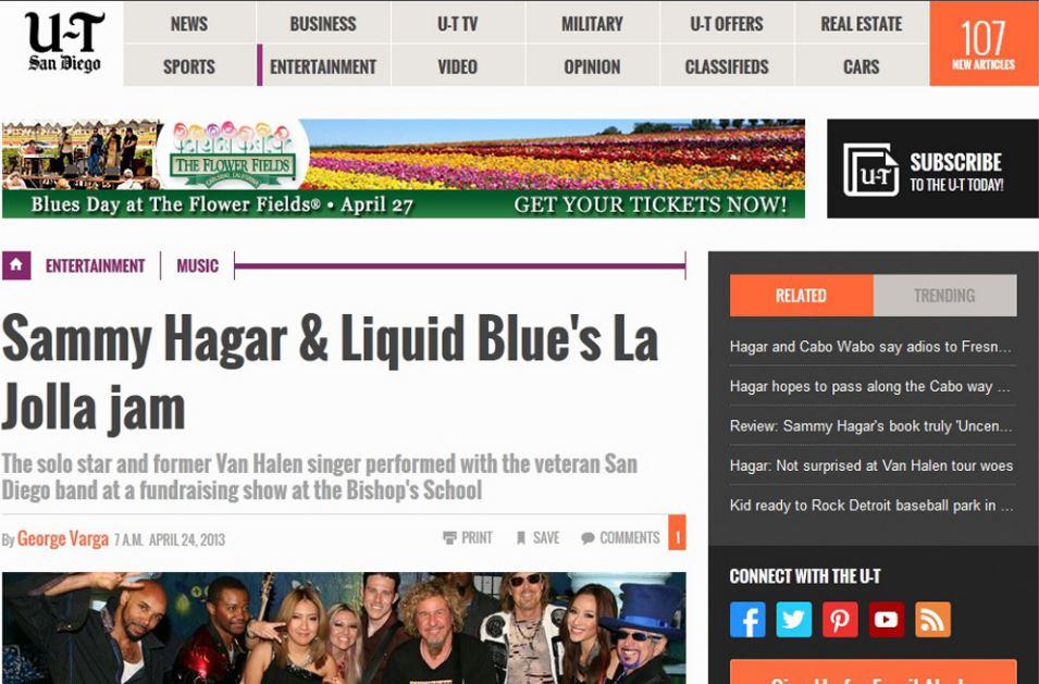 San Diego UT - Liquid Blue