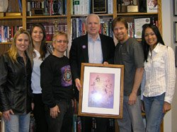 Band Meets With Popular Senator John McCain - Liquid Blue