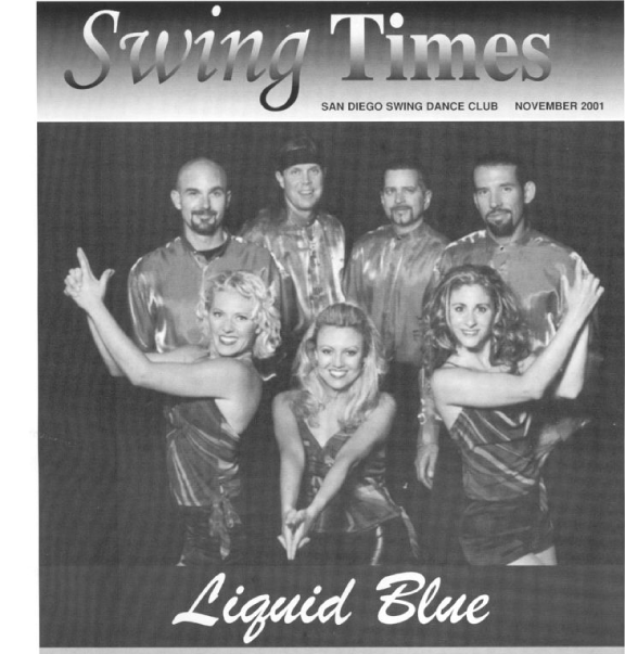 Swing Times Dec - Liquid Blue