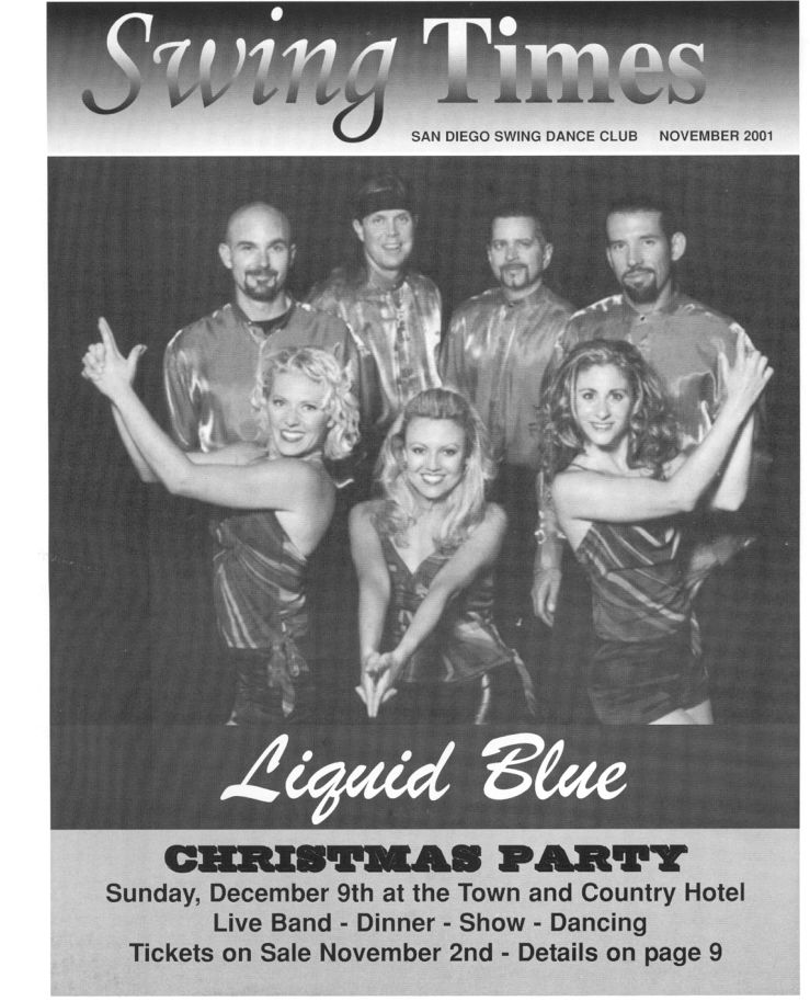 Swing Times Dec011 - Liquid Blue