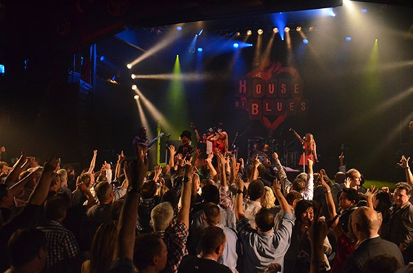 West Hollywood CA at House of  Blues - Liquid Blue