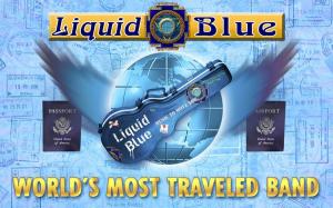 World's Most Traveled Band - Liquid Blue