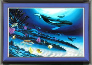 Wyland Art - Liquid Blue