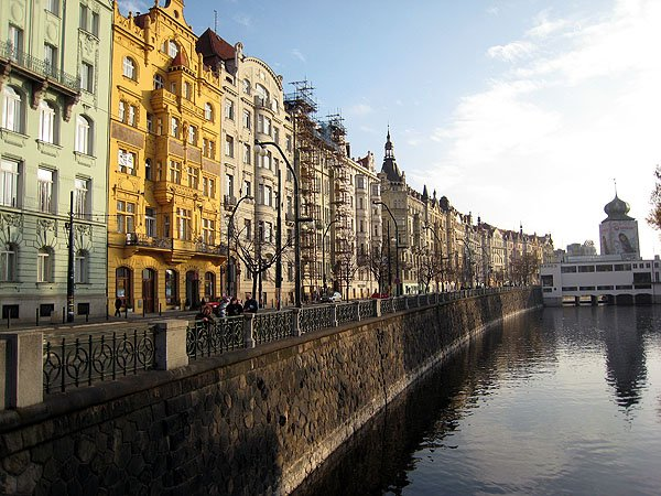 Along The Vltava river
