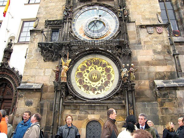 Astronomical Clock Dates