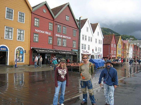 Bergen Hanseatic Commercial Buildings