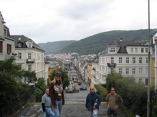 Bergen Shopping Street Strandgaten