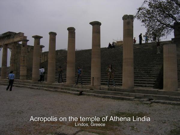BlueGirls At The Temple of Lindia