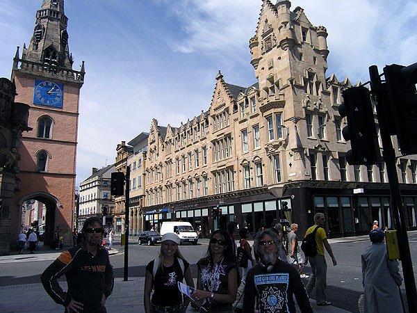 Buchanan Street, Sauchiehall Street and Argyle Street