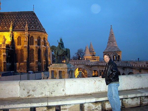 Budapest Hungary Church Serves