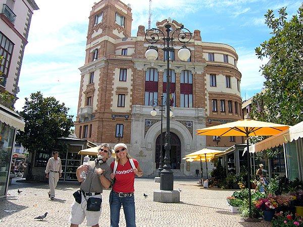 Cadiz City In Southwestern Spain
