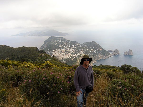 Capri Is Italian Island of The Sorrentine Peninsula